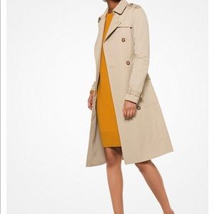 Michael Kors Sateen Raincoat medium
